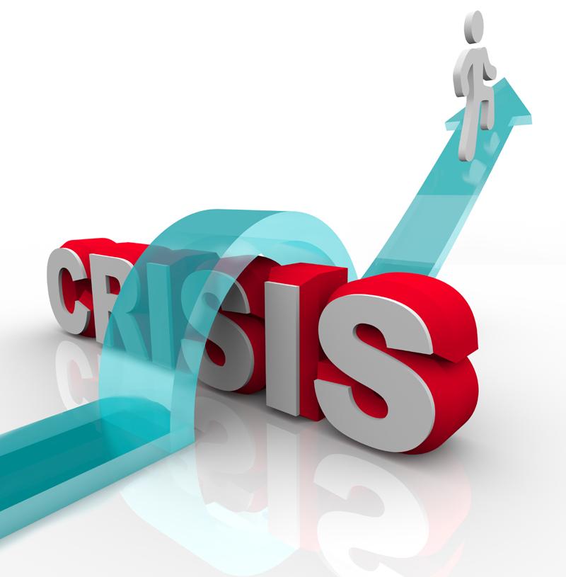 overcoming a crisis